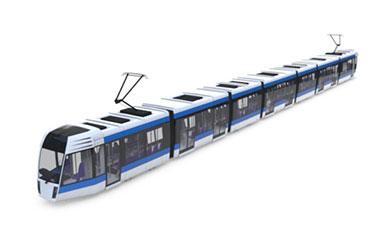 c4d火车高铁电车模型