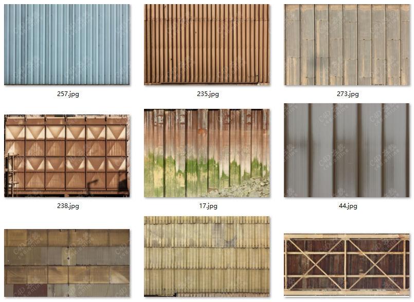 281张高清工程挡板隔板贴图素材