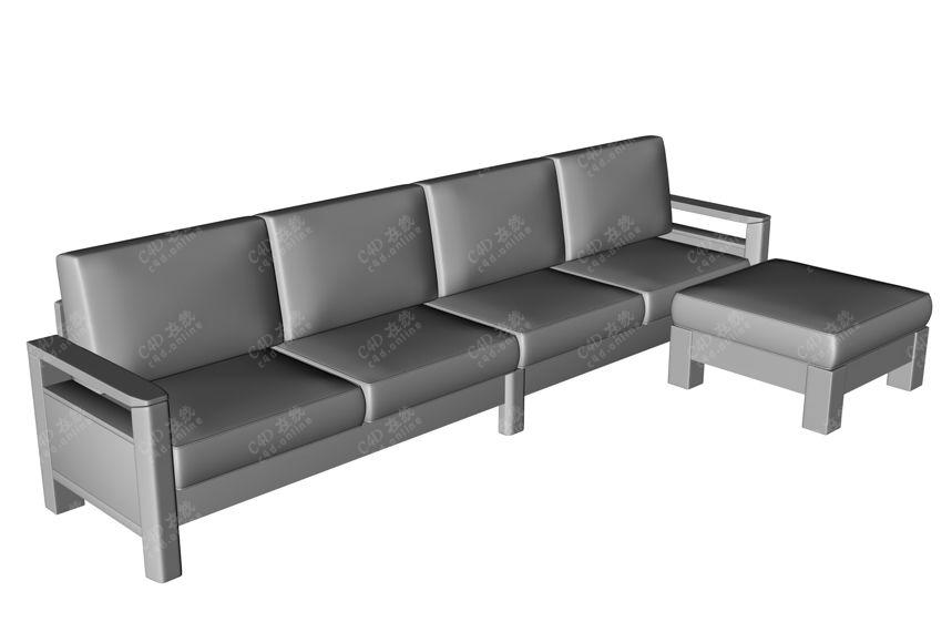 北欧风格沙发模型