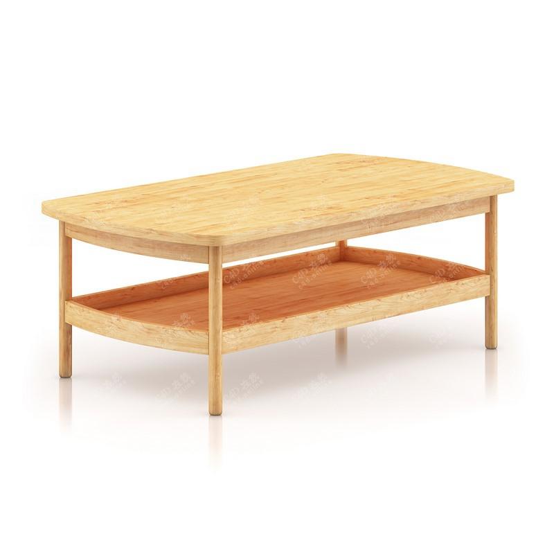 家居木质桌子家具模型