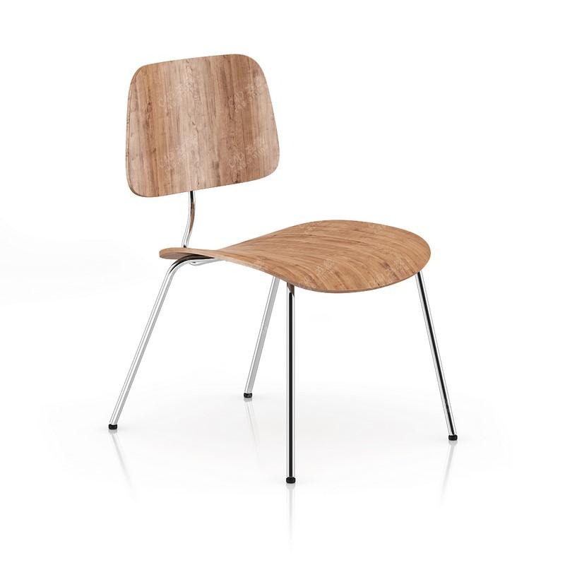 现代木质椅子简约家具模型