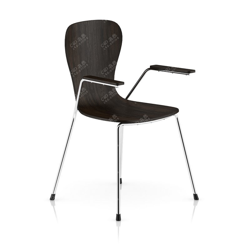 黑色木质椅子木质椅子模型免费下载