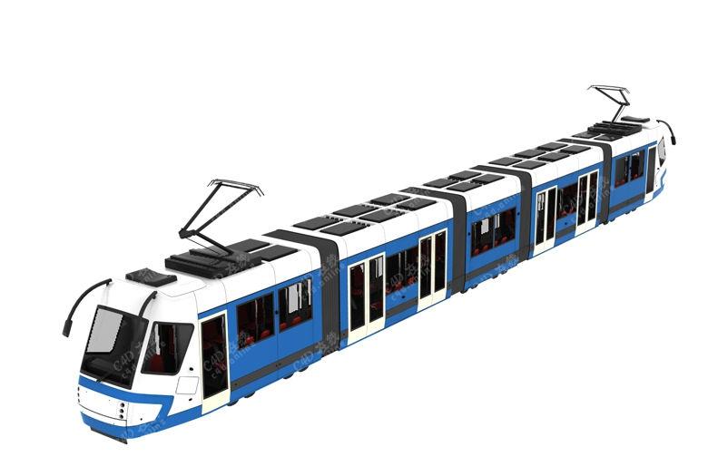 电车火车地铁高铁模型免费下载