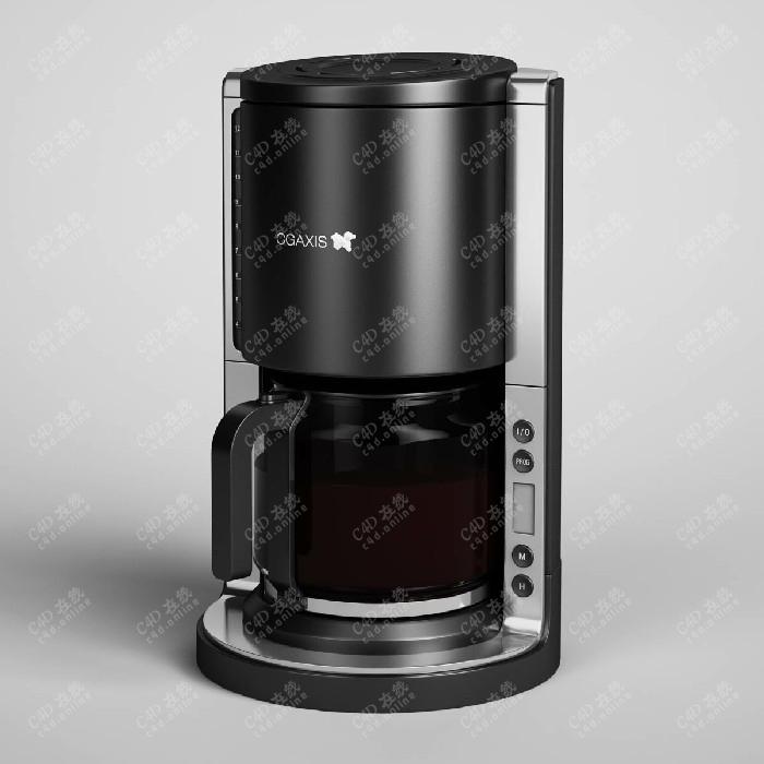 饮水机研磨机饮料机榨汁机咖啡机模型