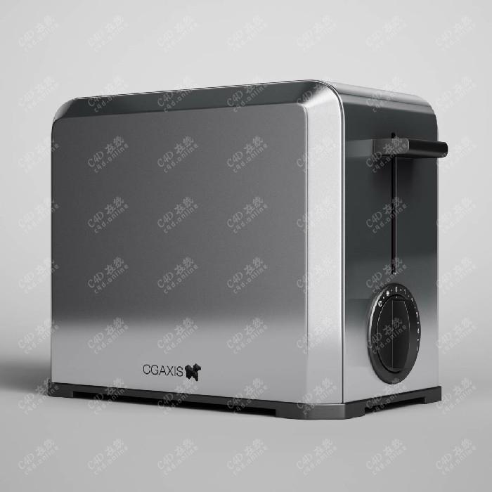 智能面包机电器设备模型