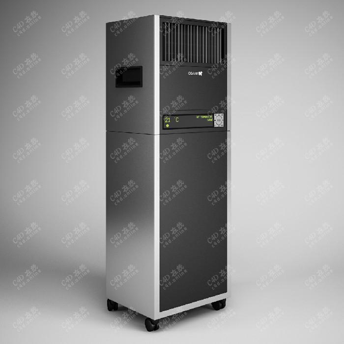 移动空调扇电风扇模型下载