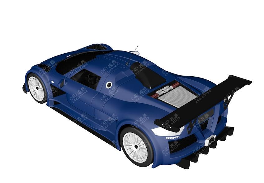 阿波罗Apollo超跑赛车跑车汽车模型