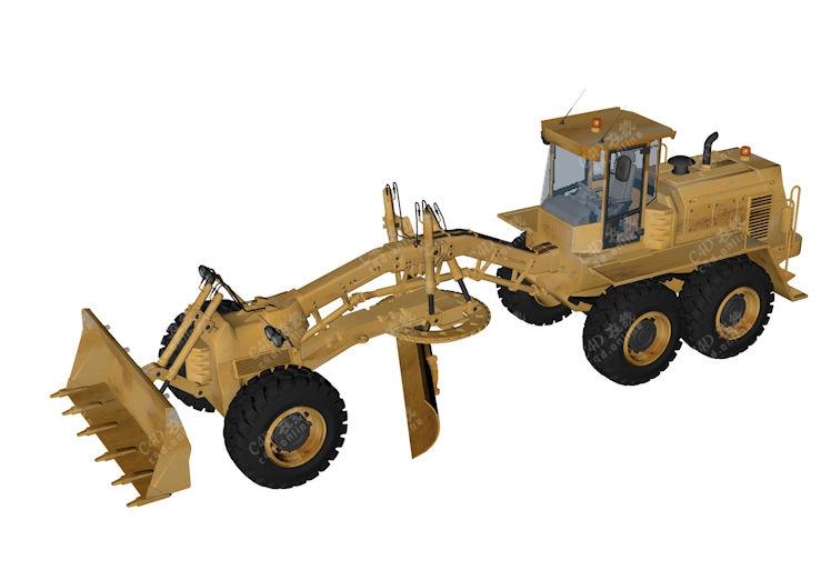 推土机工程车模型