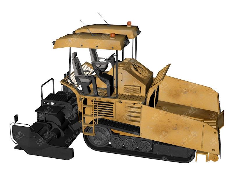 农机收割机模型