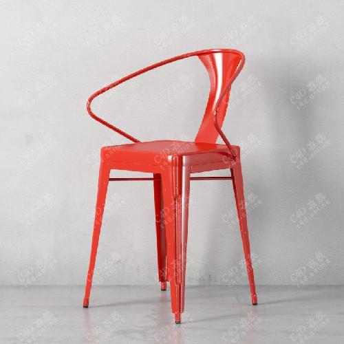 简约文艺单人椅子模型