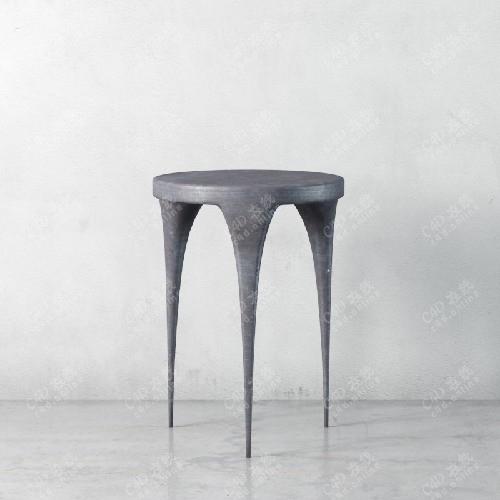 简约凳子椅子板凳模型
