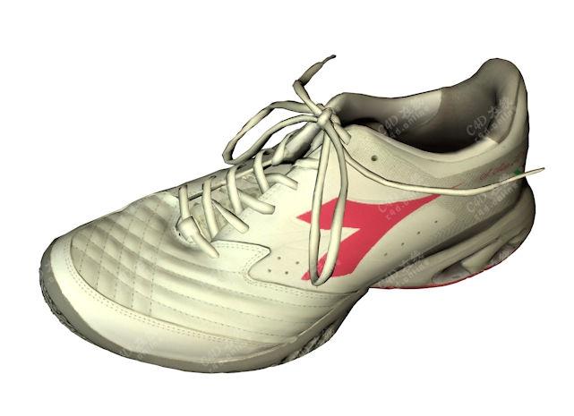 运动鞋球鞋模型