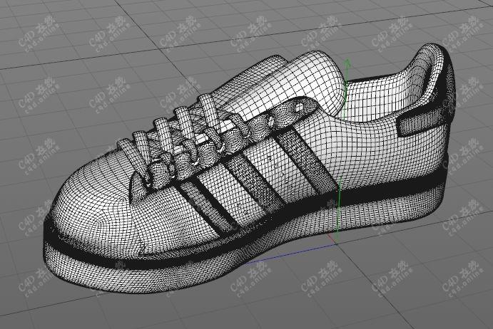 阿迪达斯平板鞋阿迪鞋子模型