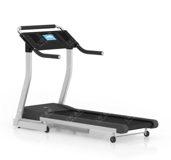 健身器材跑步机模型