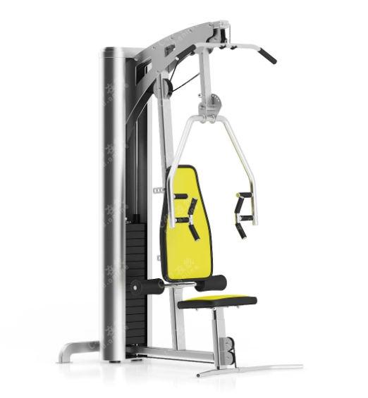 健身器材综合性训练器模型