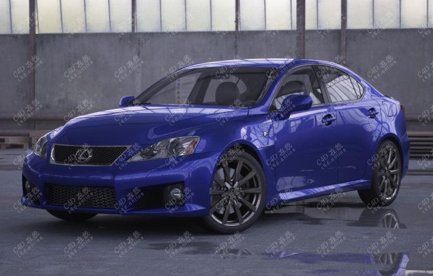 雷克萨斯LEXUS汽车模型