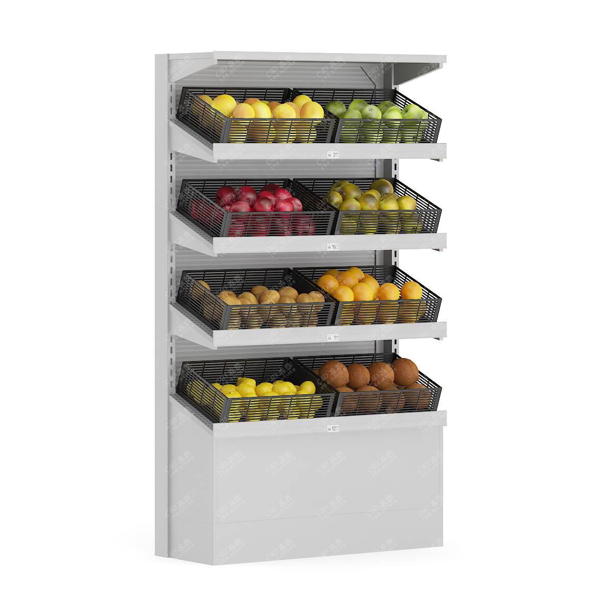 超市水果货架模型