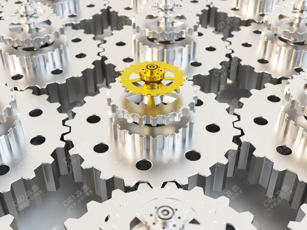 工业机械齿轮模型